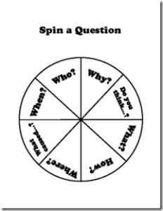spin a question