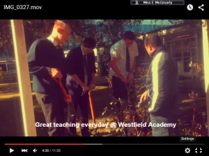 Our video is available in the T&|L shared area- have a nosey you might spy yourself!