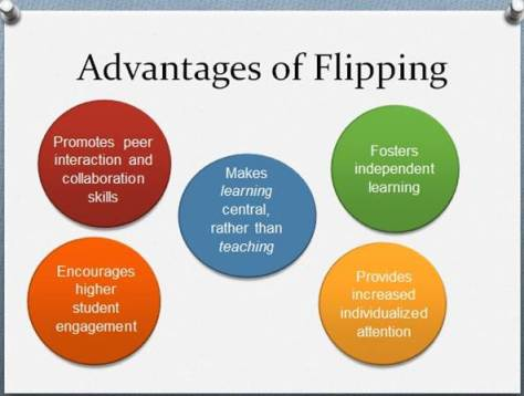 advantages of flipped learning